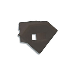 PO23 series | End cap E42B black |  | Galaxy Profiles