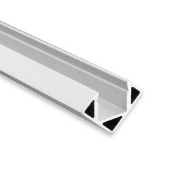 PO23 series | Profile PO23 silver 550 cm | Profiles | Galaxy Profiles