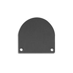 TBP5 series | End cap E46 Alu black RAL9005 |  | Galaxy Profiles