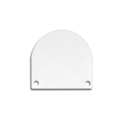 TBP5 series | End cap E46 Alu white RAL9010 |  | Galaxy Profiles