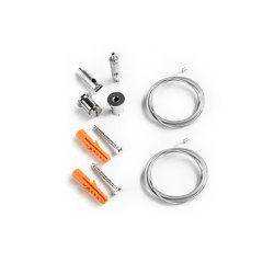 Accessories | Wire suspension Z03 for PL10, length up to 150 cm, 2 wires, incl. mounting material |  | Galaxy Profiles