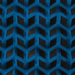 Foldwall Akustik Enzianblau | Sound absorbing objects | Foldart
