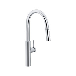 Pescara Tap Pull Down Spray U Spout Chrome | Kitchen taps | Franke Kitchen Systems