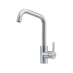 Kubus Tap Swivel Spout U Spout Stainless Steel | Kitchen taps | Franke Kitchen Systems