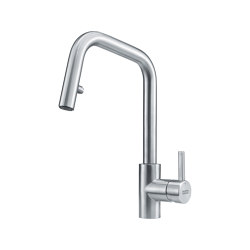 Kubus Tap Pull Down Spray U Spout Stainless Steel | Kitchen taps | Franke Kitchen Systems