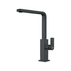 Mythos Tap Swivel Spout L Spout Industrial Black | Kitchen taps | Franke Kitchen Systems