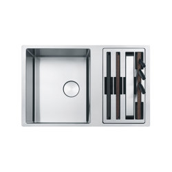 Box Center Sink BWX 120-41-27 Stainless Steel | Kitchen organization | Franke Kitchen Systems