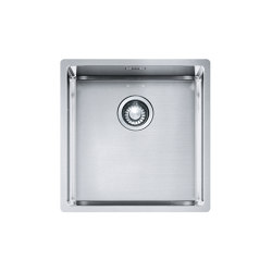Box Sink BXX 110-40/ BXX 210-40 Stainless Steel |  | Franke Kitchen Systems