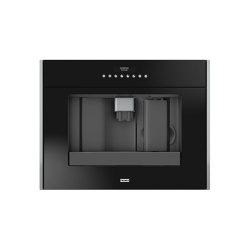 Frames by Franke Built-in Coffee Machines CM FS 45 BK Stainless Steel Glas Black | Coffee machines | Franke Home Solutions