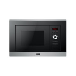 Smart Plus Multifunctional Microwave FMW 20 SMP G XS Stainless Steel Black | Microwaves | Franke Kitchen Systems
