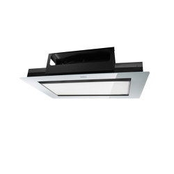 Mythos Ceiling Cabinet Hood FMYCF 906 Glass White | Kitchen hoods | Franke Kitchen Systems
