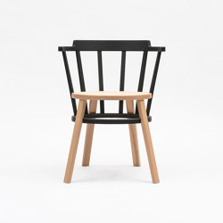 Offset windsor type   Chairs   Time & Style
