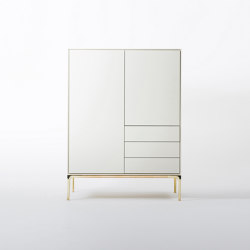 Pastel composition cabinet | Armadi | Time & Style