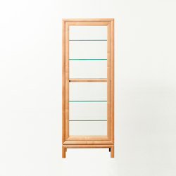 Transparent Cabinet For Individual Objects | Estantería | Time & Style