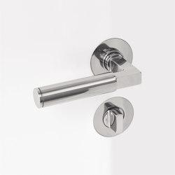 Door Handles | Bathroom thumbturn lock | Door locks | Brüchert+Kärner