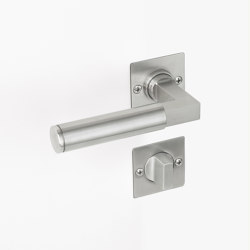 Door Handles | Bathroom thumbturn lock | Door locks | Brüchert+Kärner