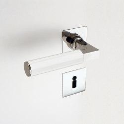 Door Handles | BK.6E white | Handle sets | Brüchert+Kärner
