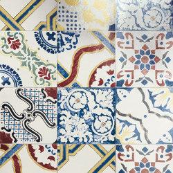 Storie D'Italia Mix Decori Glossy | Keramik Fliesen | Marca Corona