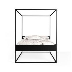 Bed Led 170 Black | Letti | Filodesign