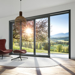 Sliding and lift-and-slide systems | LivIngSlide | Window types | SCHÜCO