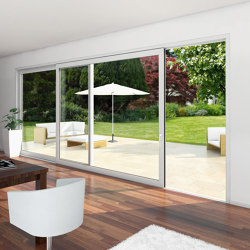 Sliding and lift-and-slide systems | EasySlide | Window types | SCHÜCO