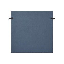 Outline Highback Panel | Black Fitting | Sound absorbing furniture | Muuto