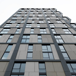 concrete skin | Solstice on the Park | Facade systems | Rieder
