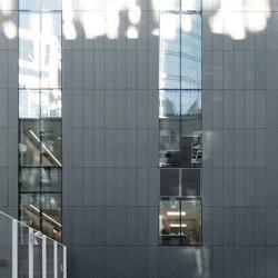 concrete skin | Collegiate School | Sistemi facciate | Rieder