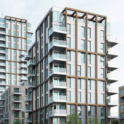 concrete skin | Woodberry Down | Facade systems | Rieder