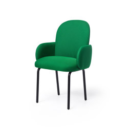 Dost Diner Steel Darkgreen   Chairs   PUIK