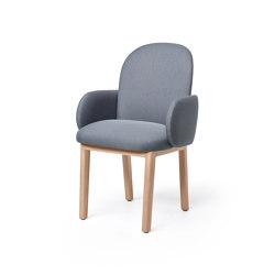 Dost Diner Wood Darkgrey | Stühle | PUIK