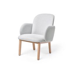 Dost Lounge Wood Lightgrey | Sillones | PUIK