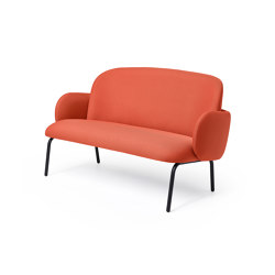 Dost Sofa Steel Terracotta | Sofas | PUIK