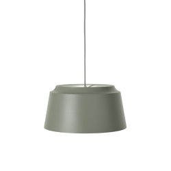 Groove Large Green   Suspended lights   PUIK
