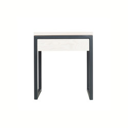 Luberon Nightstand Anthracite grey | Night stands | JOHANENLIES