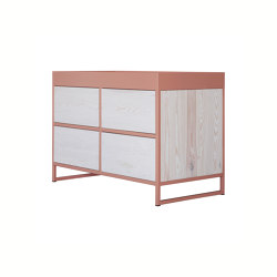 Ray Beige red | Sideboards | JOHANENLIES