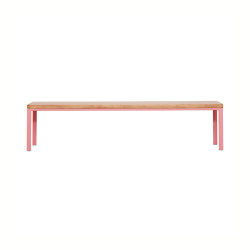 Simpelveld Bench Antique Pink | Panche | JOHANENLIES