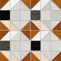 Seine | Bercy-R Rojizo | Mosaïques céramique | VIVES Cerámica