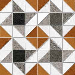 Seine | Evry-R Rojizo | Mosaici ceramica | VIVES Cerámica