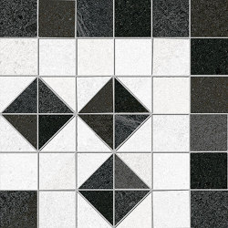 Seine | Iena-R 3 Grafito | Keramik Mosaike | VIVES Cerámica