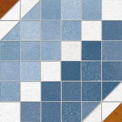 Seine | Marly-R Azul | Ceramic mosaics | VIVES Cerámica