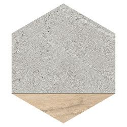 Seine | Hexágono Ligard Gris | Ceramic tiles | VIVES Cerámica