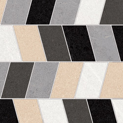 Seine | Mosaico Loing Multicolor | Ceramic mosaics | VIVES Cerámica