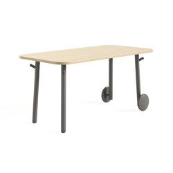 Flex Worktable Seated | Desks | Steelcase