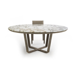 Omega | Dining tables | Longhi S.p.a.