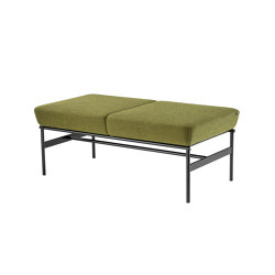 Dapple bench, 2-seater | Panche | VAD AS