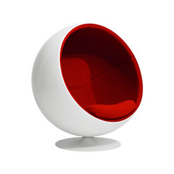 Ball chair, upholstery: Kvadrat Tonus 4 Red 130 | Sessel | Eero Aarnio Originals