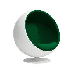 Ball chair, upholstery: Kvadrat Hallingdal 65 Green 944   Armchairs   Eero Aarnio Originals