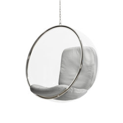 Bubble, silver leather cushions | Schaukeln | Eero Aarnio Originals