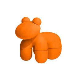 Pony, upholstery: classic orange   Poufs   Eero Aarnio Originals